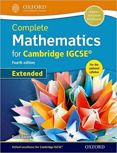 Complete Mathematics for Cambridge IGCSERG Student Book